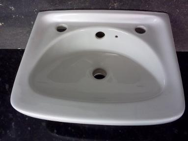 medium size wall basin square