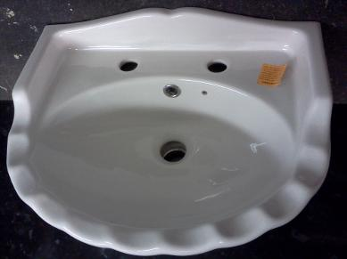 spring bathrooms wall basin shell design small