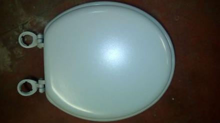 whisper grey heavy duty quality toilet seat