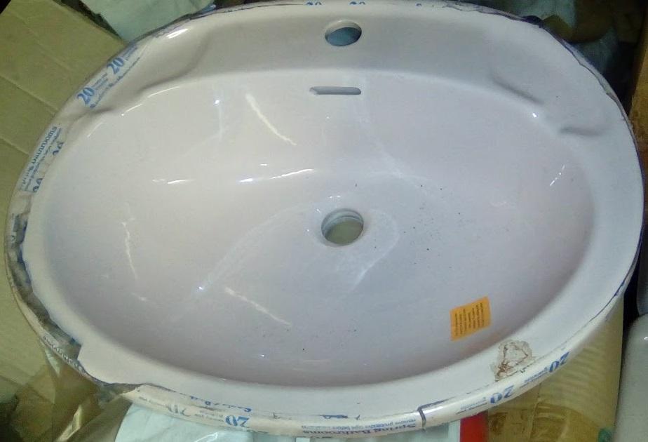 Whisper Misty Pink Colour Baths Ideal Standard Basins Toilets